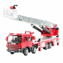 1:50 Scale Ladder Fire Engine - KDW625012