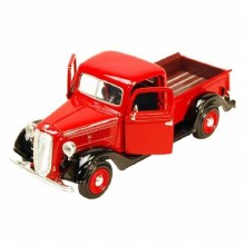 1:24 Scale 1937 Ford Pick Up, Red - MM73233