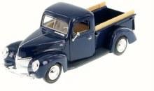 1:24 1940 Ford Pickup (Blue) - MM73234DB