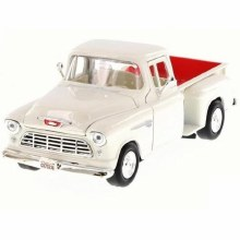 1:24 1955 Chevy Stepside (White) - MM73236