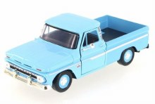 1:24 1966 Chevy C10 Fleetside (Blue) - MM73355LB