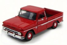 1:24 1966 Chevy C10 Fleetside (Red) - MM73355RD
