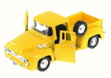 1:24 1955 Ford F-100 Pickup (Yellow) - MM79341YL