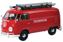 1:24 VW Type 2 (T1) Delivery Van, Fire & Rescue - MM79564
