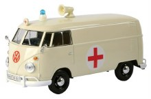 1:24 VW Type 2 (T1) Delivery Van, Ambulance - MM79565