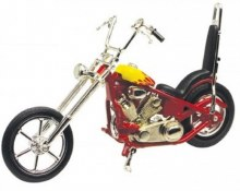 1:18 Iron Choppers Red/Yellow - MMM431