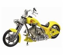 1:18 Iron Choppers Yellow - MMM443