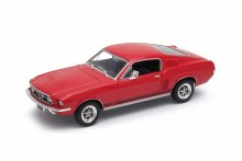 1:24 Scale 1967 Ford GT Mustang (Red) - 22522