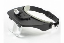 Deluxe MagVisor w/LED's & Interchangeable Lenses - DL62003