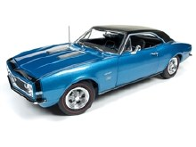 1:18 Scale 1967 Camaro Hardtop SS - AMM1118