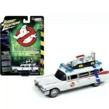 1:64 Scale Ghostbusters 1959 Cadillac Eldorado ECTO-1 Ambulance (White) - JLSS006