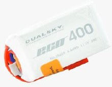 Dualsky 400mAh 2s 7.4v 30C w/JST Plug - DSBXP04002EX