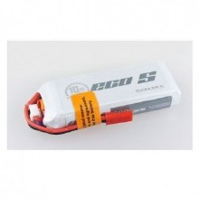 ECO-S 1000mAh 2S 7.4v 25C w/ XT60 Plug & Built in Cell Checker