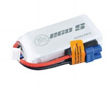 ECO-S 1300mAh 3S 11.1v 25C w/ XT60 Plug & Built in Cell Checker