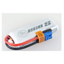 ECO-S 1800mAh 2S 7.4v 25C w/ XT60 Plug & Built in Cell Checker