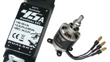 Dualsky 480 Tuning Combo with 2216C 1250kv Motor and 45A Lite ESC - DSTC.3A.480