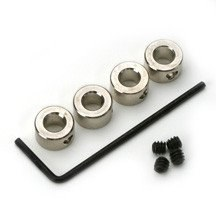 1/6 Dura-Collars 1.6mm (4)  - DBR137