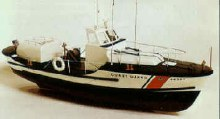 U.S. Coast Guard Lifeboat Wooden Kit - 1023