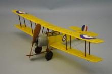 """Avro 504 18"""" Wingspan Rubber Powered Flying Model Kit - 240"""