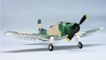 """A1-E Skyraider 30"""" Wingspan Rubber Powered Flying Model Kit - 329"""
