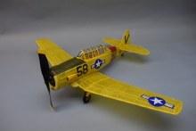 """AT-6 Texan 30"""" Wingspan Balsa kit - 334"""