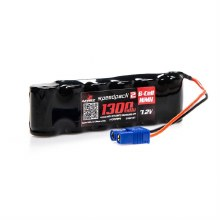 Dynamite 1300mah 7.2v NiMH 2/3A Speed Pack Battery w/ EC3