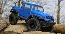 1:12 Scale Barrage Gen2 Crawler 1.55 4WD Blue RTR - 01013IT1