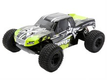 1:10 Scale AMP 2WD Monster Truck Black/Green RTR - 3028AUT2