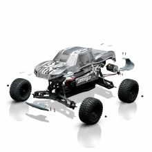 1:10 AMP Monster Truck Assembly Kit with Electronics - 03034I