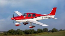 UMX Cirrus SR22T BNF Basic with AS3X and SAFE Select - 5950
