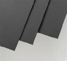 "Black Polystyrene Sheet 0.010 x 6 x 12"" (4) - 9511"