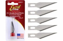 #11 Super Sharp Double Honed Blades (5) - 20011