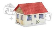 Basic Single Family House Paintable Model Kit - 150190