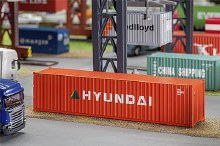 HO Scale 40' Container Hyundai - 180849