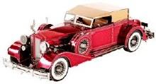 1934 Packard Twelve Convertible 3D Metal Kit