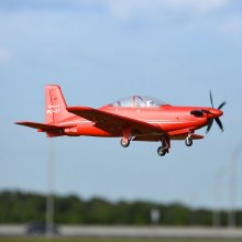 FMS 1100mm Pilatus PC-21 Red PNP - FMS087P-REF