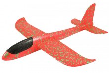 Mini Fox V2 Hand Launch Foam Chuck Glider - Red