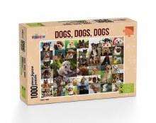 Dogs, Dogs, Dogs 1000pc - FUN1010