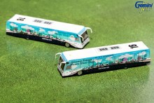 1:200 Scale Greener US Airways Cobus 3000 (2 Buses) - G2USA574