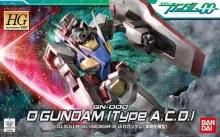 0 Gundam (Type A.C.D.) HG - 5055732