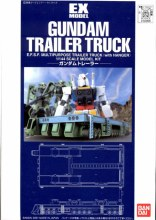 Ex Model Gundam Trailer Truck - 5056994