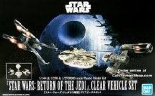 Return Of The Jedi Clear Vehicle Set - 5058212