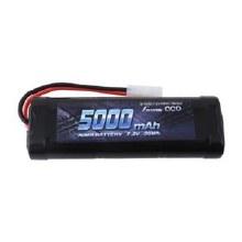5000mAh 7.2v 6-Cell Nimh w/Tamiya Plug