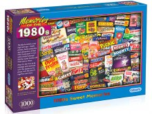 1980s Sweet Memories 1000pc - GIB070309