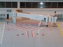 1:400 Scale Air Bridges Set 1 - ARBRDG1