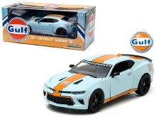 1:24 Scale 2017 Chevrolet Camaro SS Gulf Oil Racing - GL18233