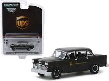 1:64 Scale 1975 Checker Taxicab Parcel Delivery UPS Canada Ltd - GL30128