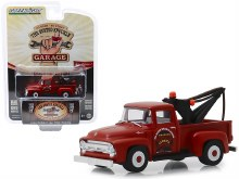 "1:64 Scale1956 Ford F-100 Tow Truck Red ""Wrecker Service"" - GL39010-B"