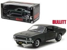 """1:24 Scale 1968 Ford Mustang GT Fastback, Green, Steve McQueen """"Bullitt"""" - GL84041"""