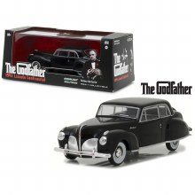 "1:43 Scale 1941 Lincoln Continental Black ""The Godfather"" 1972 - GL86507"